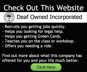 Website Image: Deaf Owned Incorporated