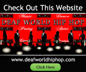 Website Image: Deaf World Hip Hop